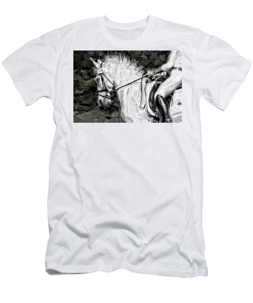 On The White Men's T-Shirt (Athletic Fit)