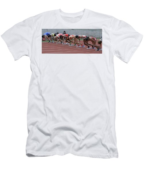 On Your Marks Men's T-Shirt (Athletic Fit)