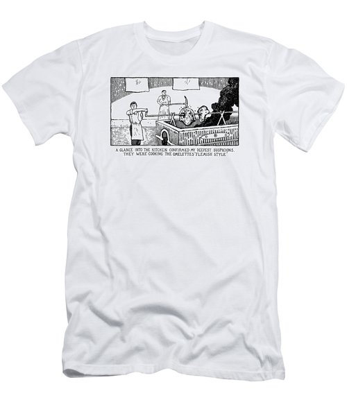 One Glance Into The Kitchen Confirmed My Deepest Men's T-Shirt (Athletic Fit)