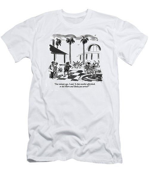 One Minute Ago Men's T-Shirt (Athletic Fit)