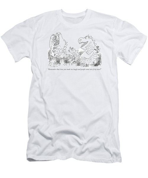 One Monster Devouring A City Men's T-Shirt (Athletic Fit)