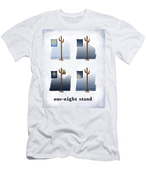 One Night Stand Men's T-Shirt (Athletic Fit)