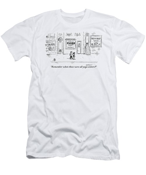 One Pedestrian To Another Men's T-Shirt (Athletic Fit)