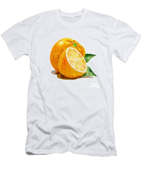 Artz Vitamins An Orange Men's T-Shirt (Athletic Fit)