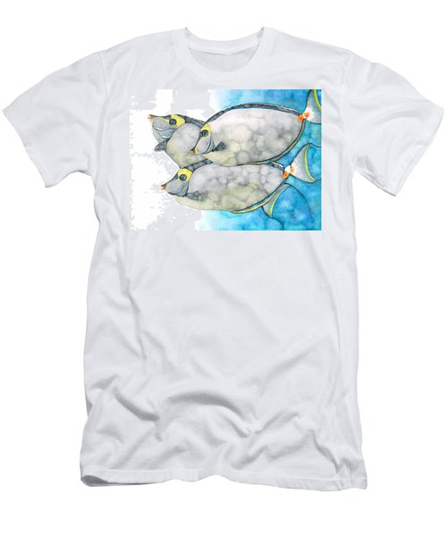 Orangespine Unicornfish Men's T-Shirt (Athletic Fit)