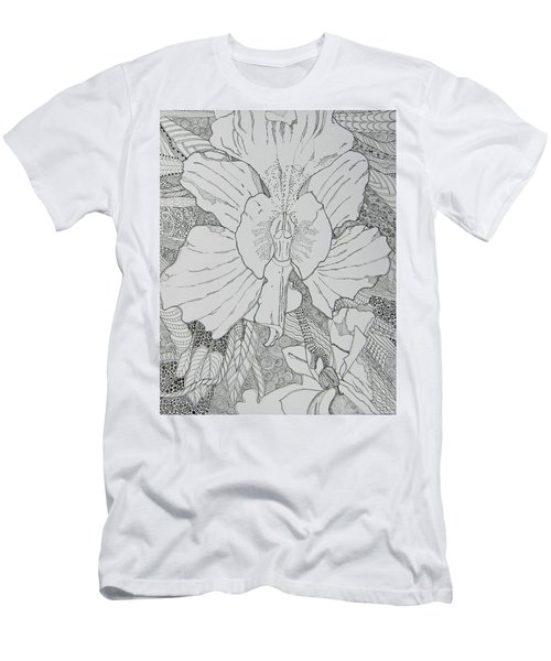 Orchid In Disguise Men's T-Shirt (Athletic Fit)