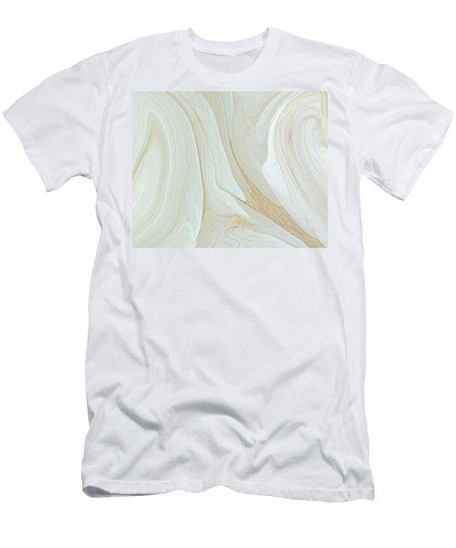 Orchids In Snow  C2014 Men's T-Shirt (Athletic Fit)
