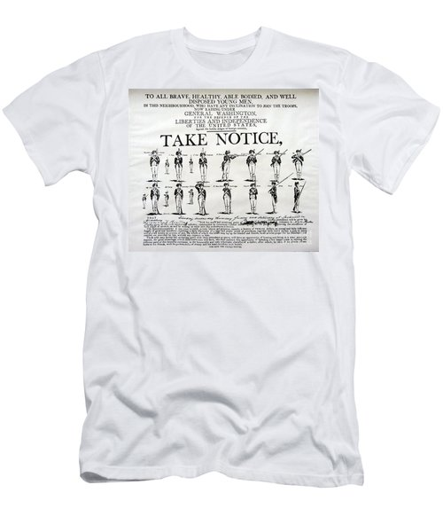 Order Of Battle - Take Notice Brave Men Men's T-Shirt (Athletic Fit)