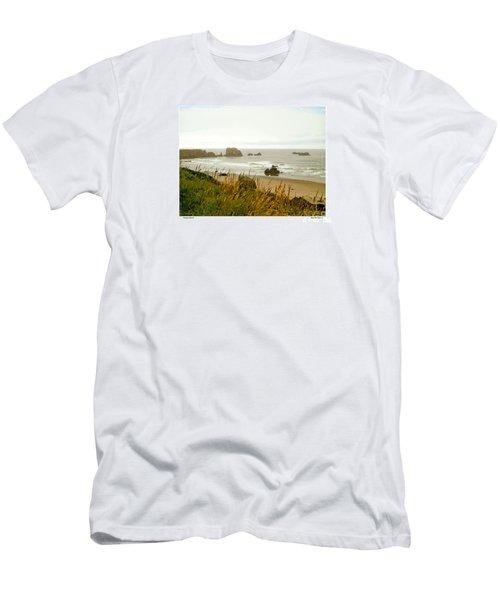 Oregon Beach Men's T-Shirt (Athletic Fit)