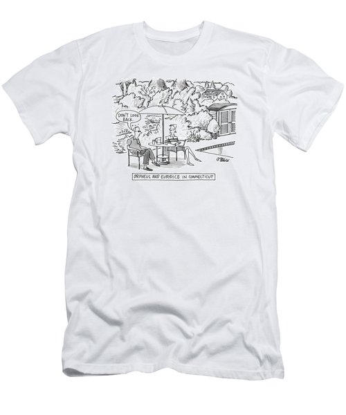 Orpheus And Eurydice In Connecticut Men's T-Shirt (Athletic Fit)