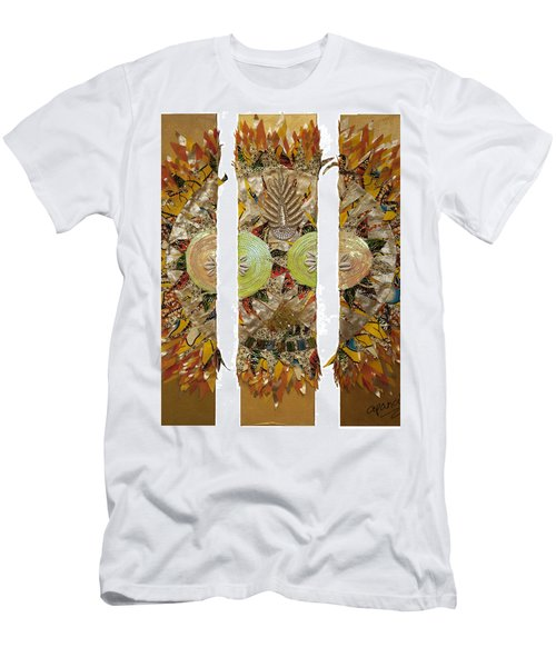 Men's T-Shirt (Athletic Fit) featuring the tapestry - textile Osun Sun by Apanaki Temitayo M