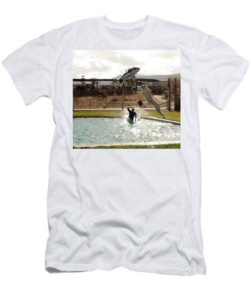 Out Of Africa  Tiger Splash 6 Men's T-Shirt (Athletic Fit)