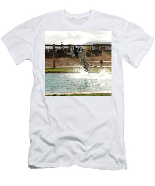 Out Of Africa Tiger Splash 7 Men's T-Shirt (Athletic Fit)