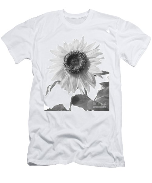 Over Looking The Garden Men's T-Shirt (Slim Fit) by Alana Ranney