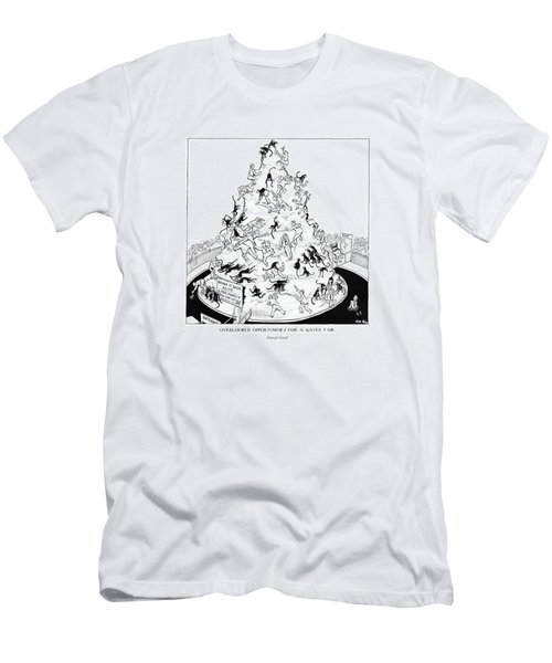 Overlooked Opportunities For A Gayer Men's T-Shirt (Slim Fit) by Carl Rose
