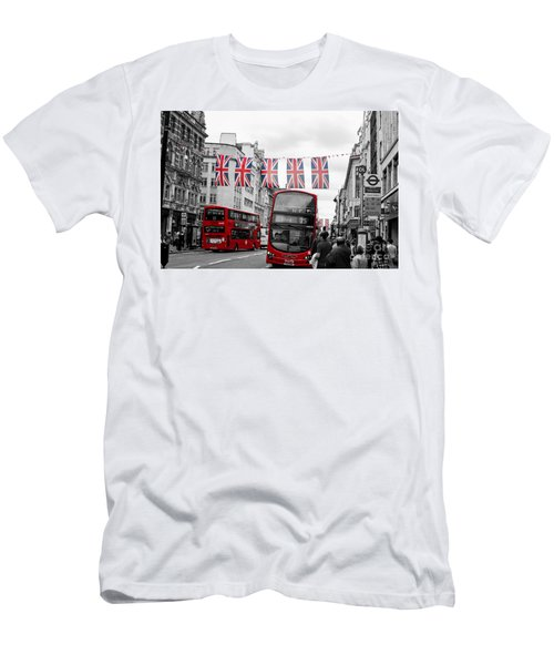 Oxford Street Flags Men's T-Shirt (Athletic Fit)