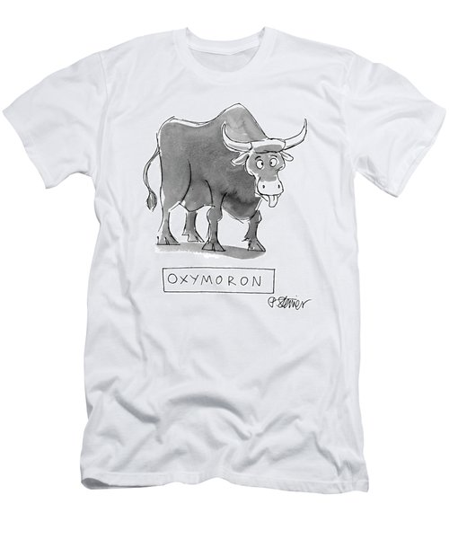 'oxymoron' Men's T-Shirt (Athletic Fit)