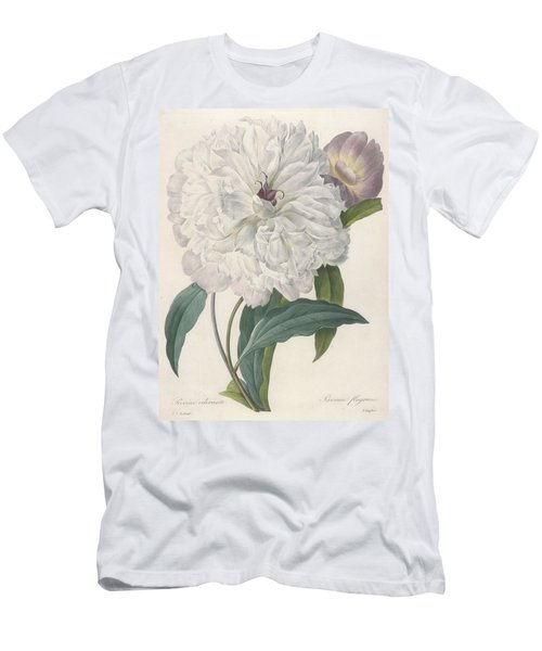 Paeonia Flagrans Peony Men's T-Shirt (Athletic Fit)