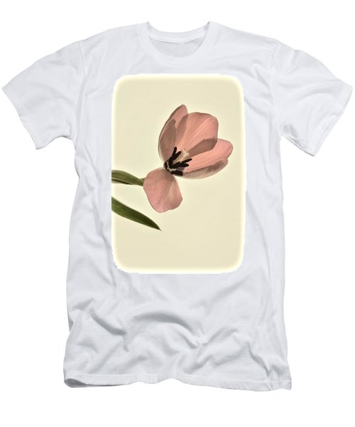 Pale Pink Tulip Men's T-Shirt (Athletic Fit)