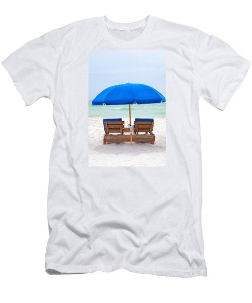 Men's T-Shirt (Slim Fit) featuring the photograph Panama City Beach Florida by Vizual Studio