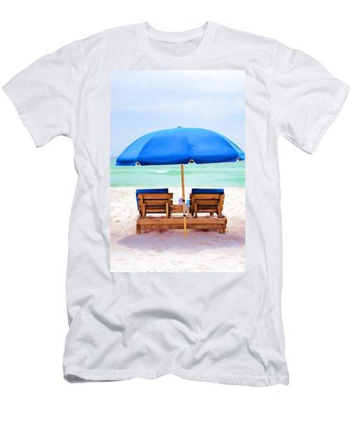 Men's T-Shirt (Slim Fit) featuring the photograph Panama City Beach II by Vizual Studio
