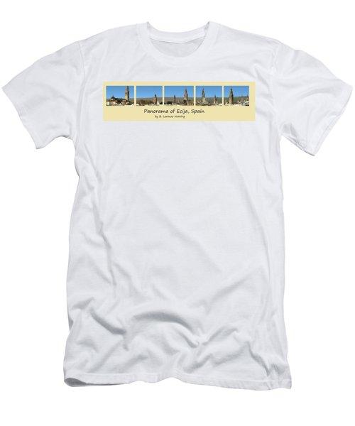Panorama Of Ecija Spain Men's T-Shirt (Athletic Fit)