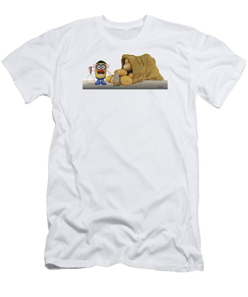 Papa Got A Brand New Bag Men's T-Shirt (Athletic Fit)