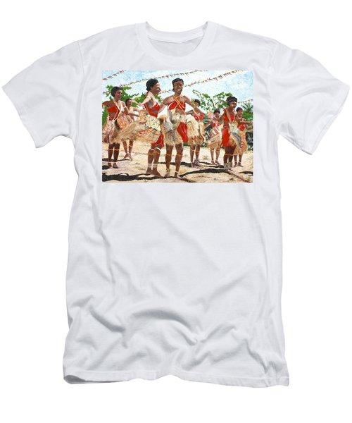 Papua New Guinea Cultural Show Men's T-Shirt (Athletic Fit)