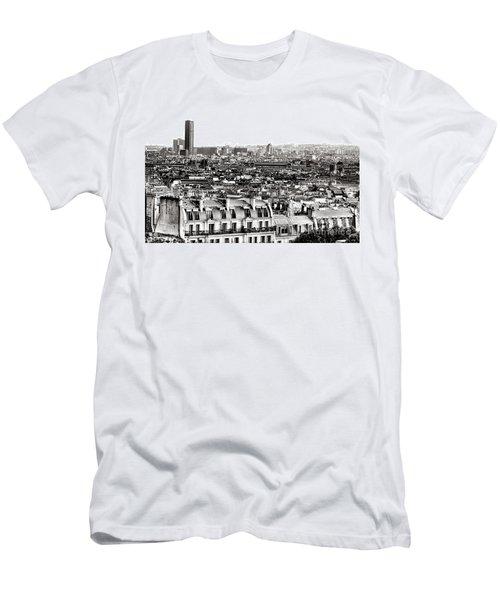 Paris Montparnasse Men's T-Shirt (Athletic Fit)
