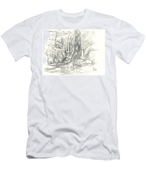 Passageway At Elephant Rocks Men's T-Shirt (Athletic Fit)