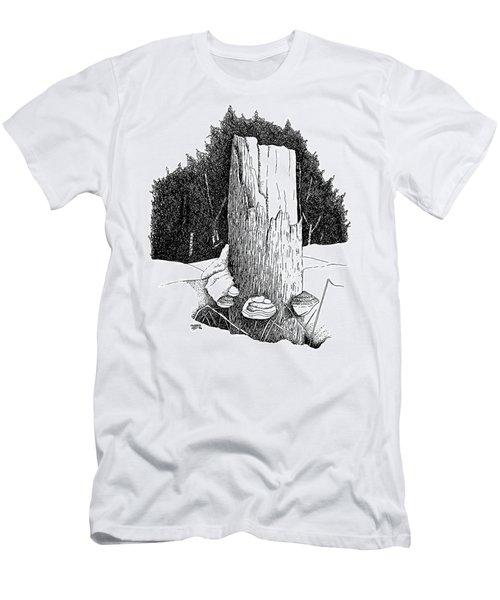 Passing Of Time Men's T-Shirt (Slim Fit) by Richard Faulkner