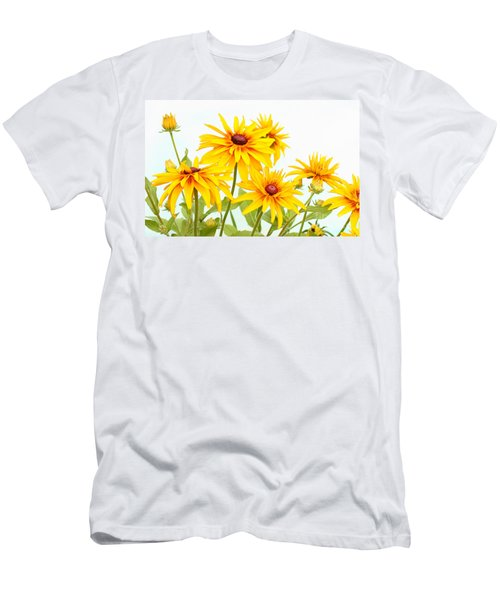 Patch Of Black-eyed Susan Men's T-Shirt (Athletic Fit)