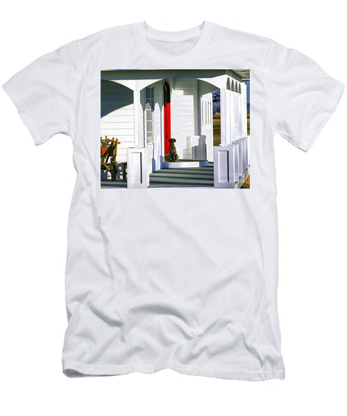 Patience Men's T-Shirt (Slim Fit) by Steven Reed