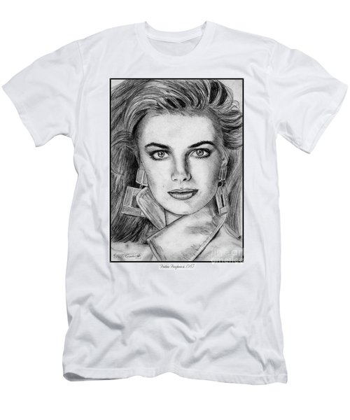 Paulina Porizkova In 1987 Men's T-Shirt (Athletic Fit)