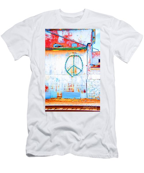 Peace 3 Men's T-Shirt (Athletic Fit)