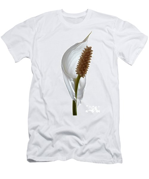 Peace Lily. Men's T-Shirt (Athletic Fit)