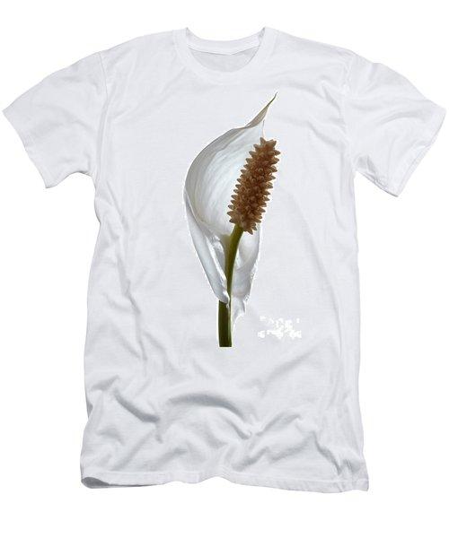 Peace Lily. Men's T-Shirt (Athletic Fit)