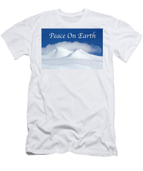 Peace On Earth Card Men's T-Shirt (Athletic Fit)