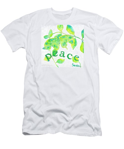 Peace Men's T-Shirt (Athletic Fit)