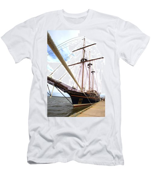 Men's T-Shirt (Slim Fit) featuring the photograph Peacemaker by Gordon Elwell