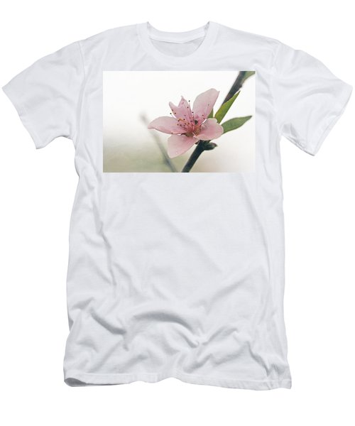 Peach Blossom Men's T-Shirt (Athletic Fit)