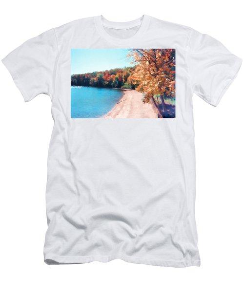 Pennsylvania Autumn 001 Men's T-Shirt (Athletic Fit)