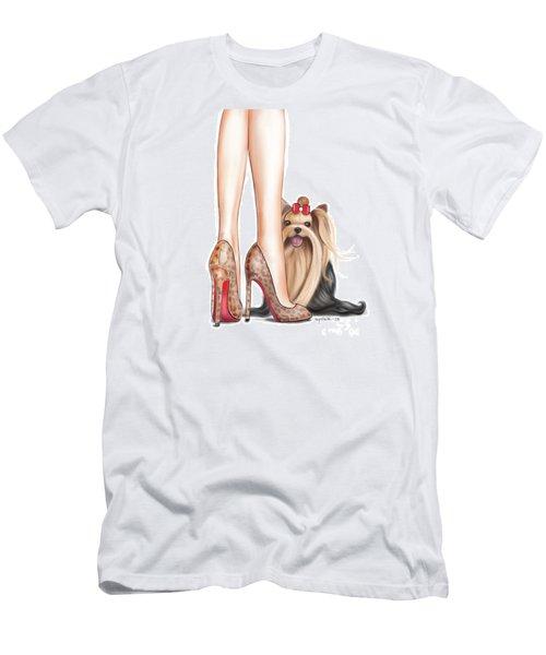 Perfect Match Men's T-Shirt (Slim Fit) by Catia Cho