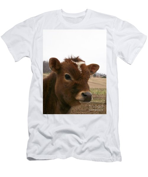 Men's T-Shirt (Slim Fit) featuring the photograph Perfect Stance by Sara  Raber