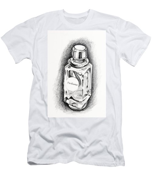 Perfume Bottle Men's T-Shirt (Athletic Fit)