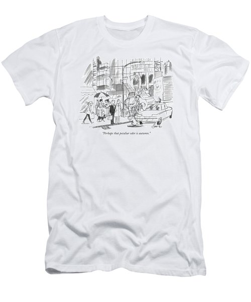 Perhaps That Peculiar Odor Is Autumn Men's T-Shirt (Athletic Fit)