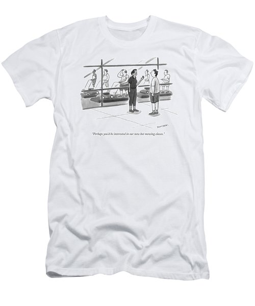 Perhaps You'd Be Interested In Our New Hot Mowing Men's T-Shirt (Athletic Fit)