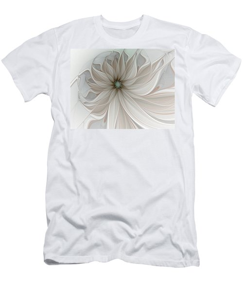 Petal Soft White Men's T-Shirt (Athletic Fit)