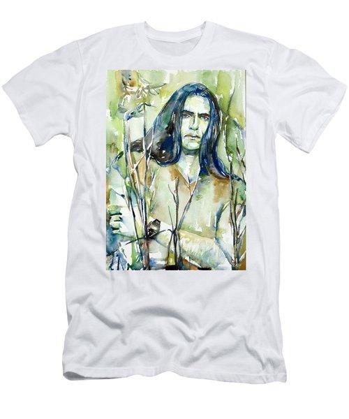 Peter Steele Portrait.1 Men's T-Shirt (Athletic Fit)