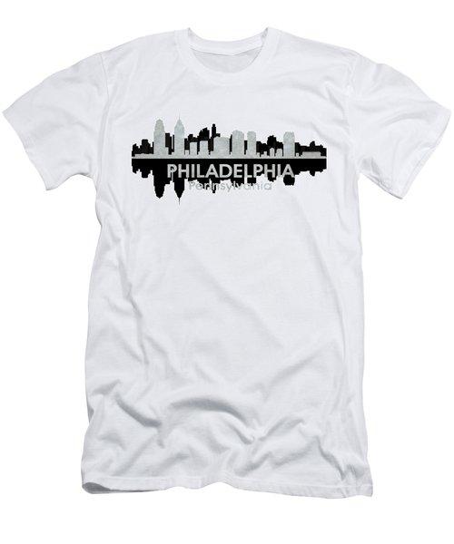 Philadelphia Pa 4 Men's T-Shirt (Athletic Fit)